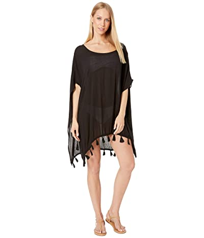 Roxy Make Your Soul Poncho Cover-Up (Anthracite) Women