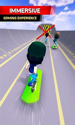 『Skater Race! Turbo Rush - Skateboard Stars Racing Game』の5枚目の画像