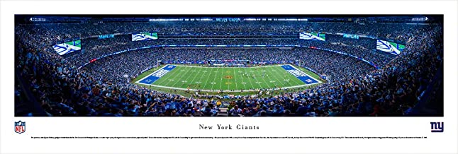 New York Giants - 50 Yard Line at Met Life Stadium - Panoramic Print