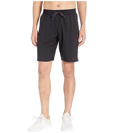Nike 9 Logo Splice Racer Volley Shorts (Black) Men