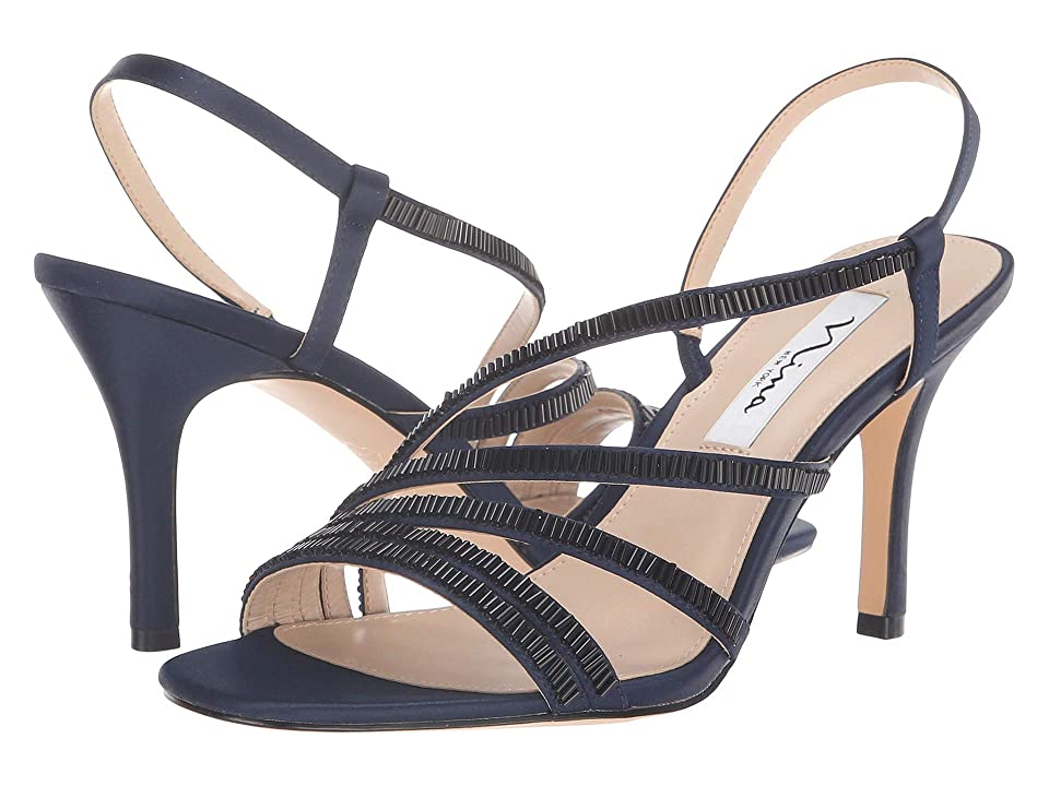 Nina Amani (New Navy Satin) Women