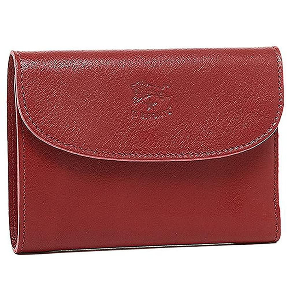 ファッションコンバーチブルそうイルビゾンテ 財布 レディース IL BISONTE C0972P 245 2つ折り財布 RUBYRED [並行輸入品]