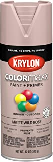 Krylon K05601007 COLORmaxx Spray Paint, Aerosol, Wild Rose