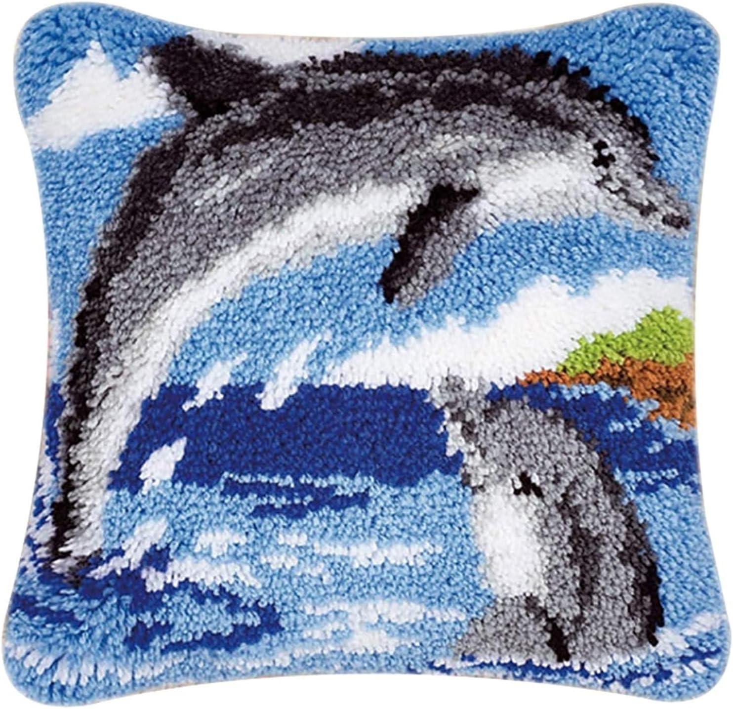 Latch Hook Kits 43cm DIY Max 49% OFF Rug Set Cushion Cus Sewing Pillowcase Direct stock discount