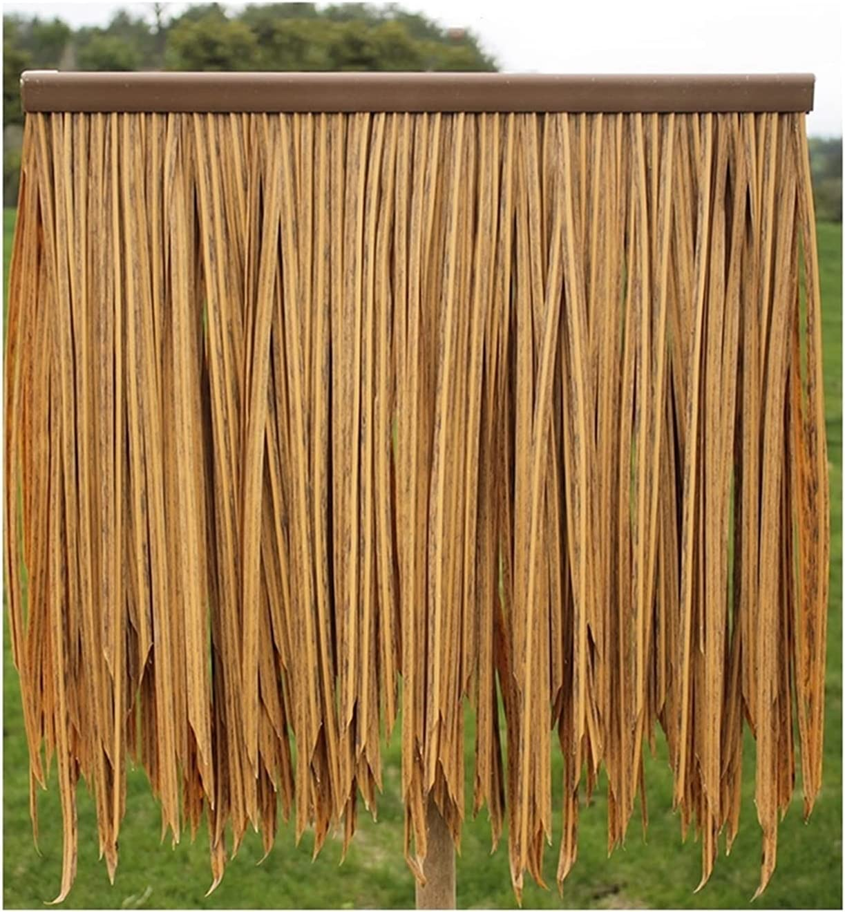 sold out Ranking TOP3 Palm Thatch Fake Straw Environmental PE Protection High-Density