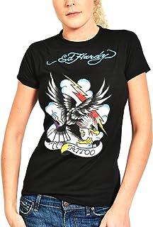 e8faac2f5 Ed Hardy Womens Tattoo Eagle Tee Shirt