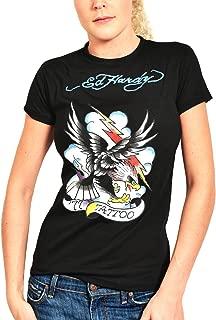 Ed Hardy Womens Tattoo Eagle Tee Shirt