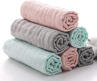 Baby Bath Washcloths by MUKIN - 100% Organic Muslin Cotton Washcloth for Newborn,Ultra Soft Wash Cloths for Babies | Baby ...