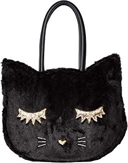 Alley Kitch Plush Cat Tote