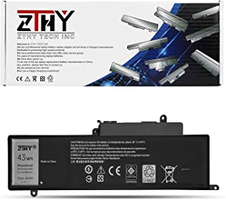 ZTHY GK5KY Battery Replacement for Dell Inspiron 11 3147 3148 3152 3157 Inspiron 13 7347 7348 7352 7353 7359 Inspiron 15 7558 7568 P20T Laptop 04K8YH 4K8YH RHN1C 92NCT 092NCT 451-BBKK 11.1V 43WH 3Cell