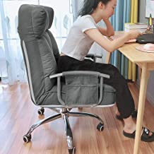 Home Computer Task Chair|Ergonomic Desk Recliner,Height Adjustable Sofa Seat|Padded Arm Rests and Back Rest|for Bedroom/Li...
