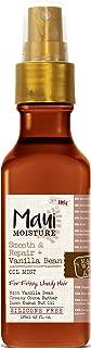 Maui Moisture Smooth & Repair Vanilla Bean Oil Mist 4.2 Ounce (125ml) (2 Pack)