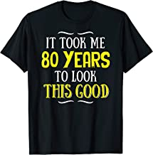 Best 80 year old birthday t shirts Reviews