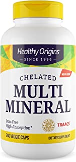 Sponsored Ad - Healthy Origins Chelated Multi Mineral (featuring Albion Minerals), 240 Veggie Caps