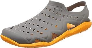 Crocs Swiftwater Wave Shoe M Sandalias con Correa de Tobillo para Hombre