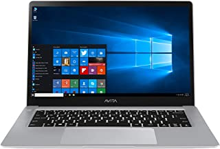 AVITA Cosmos NS14A1IN502P 14-inch Laptop (7th Gen Core i5-7Y54/8GB/256GB SSD/Windows 10/Intel HD 615 Graphics), Cloud Silver