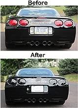 Corvette Rear Reverse, 3rd Brake, Taillight Acrylic Blackout Kit 7 Pc. : 1997-2004 C5 & Z06