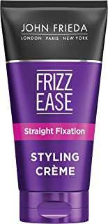 John Frieda Frizz Ease Straight Fixation Styling Crème, 5 Ounce