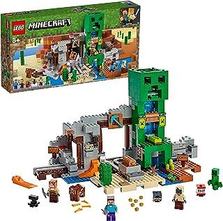 LEGO Minecraft The Creeper Mine 21155 Building Kit, New 2019
