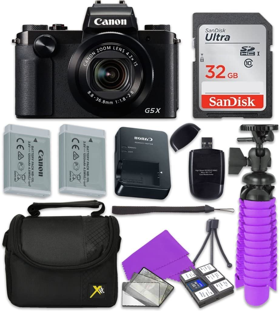 Canon PowerShot G5 X Max 79% OFF Wi-Fi Digital SD Sandisk 32 with Camera GB Memphis Mall