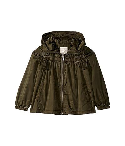 HABITUAL girl Rayne Lightweight Nylon Jacket (Big Kids) (Dark Green) Girl