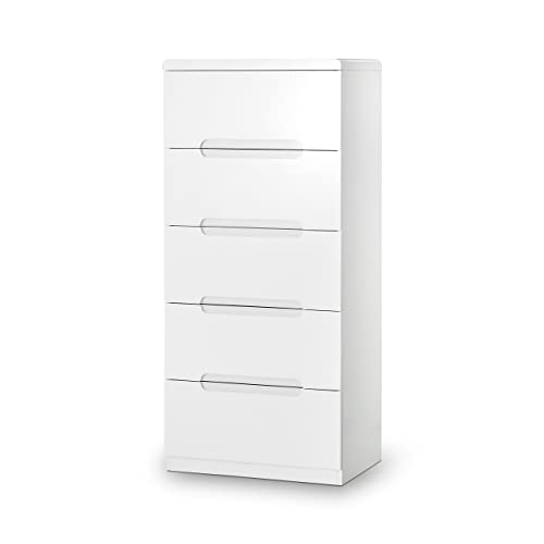 White Tallboy Chest Of Drawers Amazoncouk