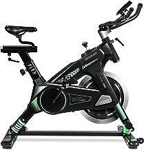 Bicicleta spinning dinámica profesional UltraFlex 25 de Cecotec. Sistema de amortiguación UltraFlex. Volante inercia 25 Kg. Silenciosa. Ergonómica. Sillín deportivo. Manillar triatlón