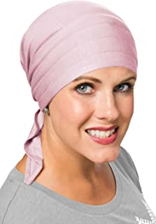 Cardani Instant Tie Pre-Tied Head Scarf in Luxury Bamboo