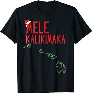 Mele Kalikimaka T Shirt Hawaiian Christmas 2018 Gift