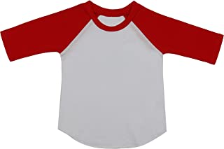 ToBeInStyle Baby Cotton Contrast Raglan Sleeve Top