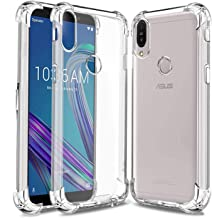 Dashmesh Shopping® Protective Soft Transparent Shockproof Hybrid Protection Back Case Cover for Asus Zenfone Max Pro M1