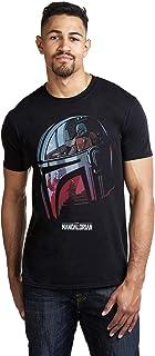 Star Wars Mandalorian-Helmet Camiseta para Hombre
