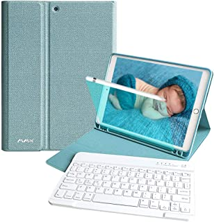 ipad 8 第8世代 キーボードケース (2020) iPad 10.2 キーボードケース(2019) iPad Pro 10.5 (2017/2018)に兼用 iPad Air3 2019 キーボード付きカバー 第7世代/第8世代 TPU ...