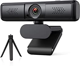 Webcam with Microphone, DEPSTECH 2K Webcam for Video Streaming, USB Web Camera for Computers with 89°Wide Angle, Compatibl...