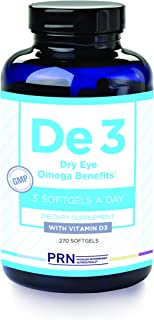 De3 Dry Eye Omega Benefits (270 ct)