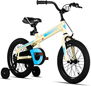 JOYSTAR Whizz Kids Bike with Training Wheels for Ages 2-9 Years Old Boys and Girls, 12 14 16 18 Toddler Bike with Handbrak...