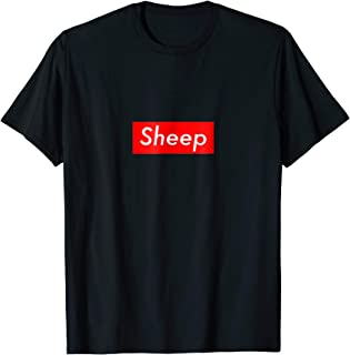 Best sheep box logo t shirt Reviews