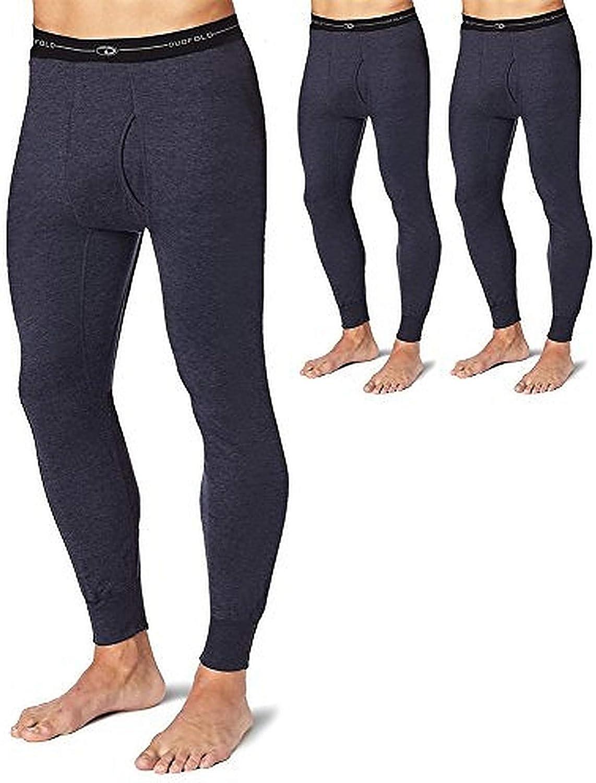 Duofold KMW2 Men's Thermal Base-Layer Underwear Navy 5 Pack