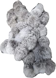 Real Rabbit Fur Scarf Warm Protect the Cervical Spine