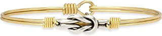 Luca + Danni Love Knot Bangle Bracelet for Women Made in USA