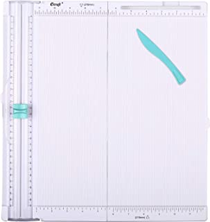 Ecraft Paper Trimmer Scoring Board: 12 x12 inch Craft Paper Cutter - Folding & Scorer for Cover of Book & Gift Box and Pho...