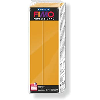 Fimo Professional Pain P/âte /à/ Modeler 350 g Orange Staedtler