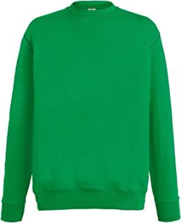 Fruit of the Loom Mens Lightweight Set-in Sweatshirt