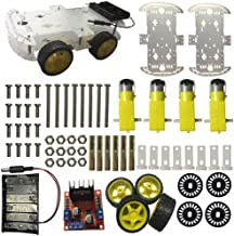 MX Mixse Smart Robot Car Starter Chassis Kits for Arduino DIY Raspberry Pi/Uno R3 Project