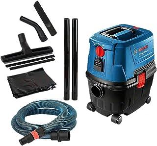 Bosch GAS 15 PS - Aspirador de agua y polvo 1100 W, 270 mbar 53 L/seg.