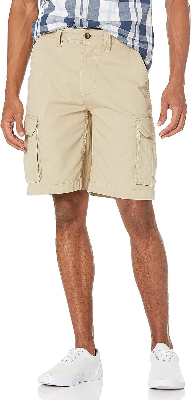 "Amazon Essentials Men's Classic-Fit Cargo Max Popular products 73% OFF 10"" Short"