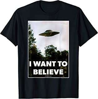 The X-Files I Want To Believe UFO Poster T-Shirt
