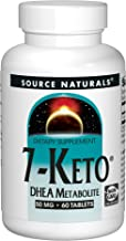 Source Naturals 7-Keto 50mg DHEA Metabolite - 60 Tablets