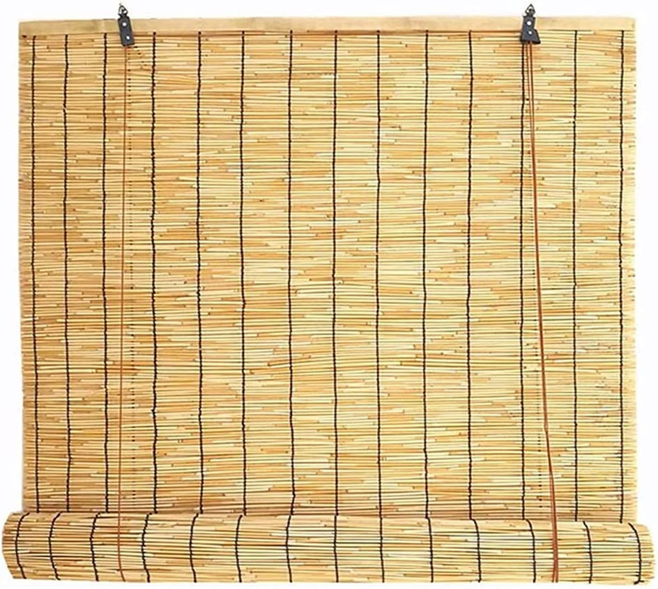 Natural Roll-up Reed Shade Large special price !! Filter Insulated Inventory cleanup selling sale Light Thernal The B