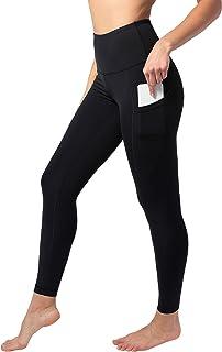 Reflex High Waist Squat-Proof 7/8 Length Leggings with Curved Back Yoke Seam